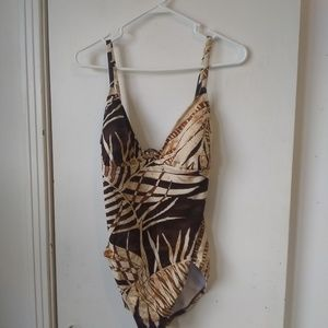 Speedo ladies one piece swimsuit sz 16